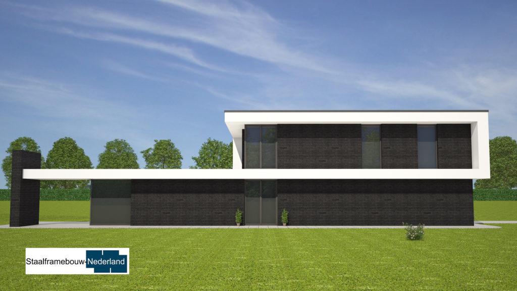 Kubistische villa in moderne M143