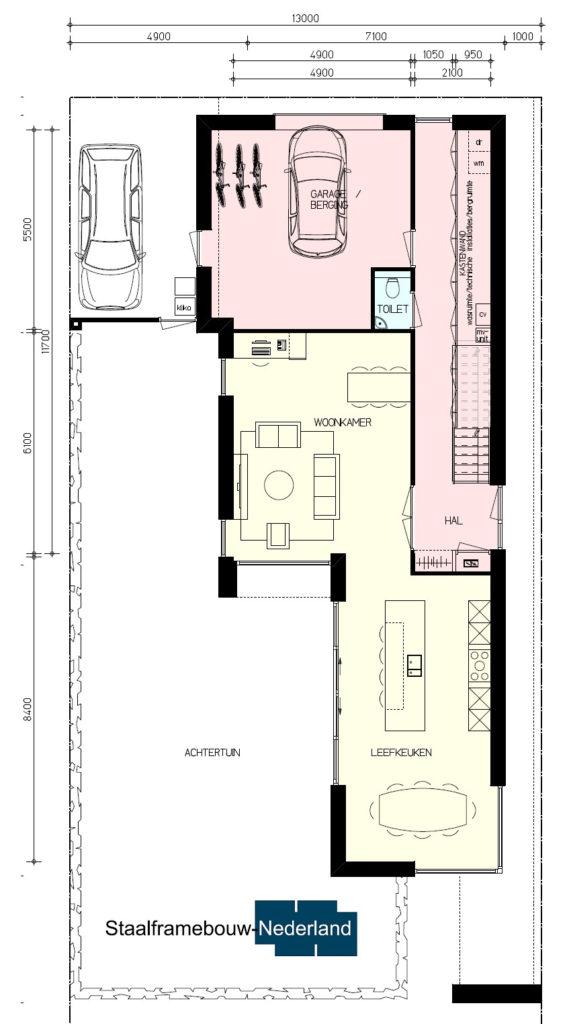 Kubistische villa in moderne M143 3