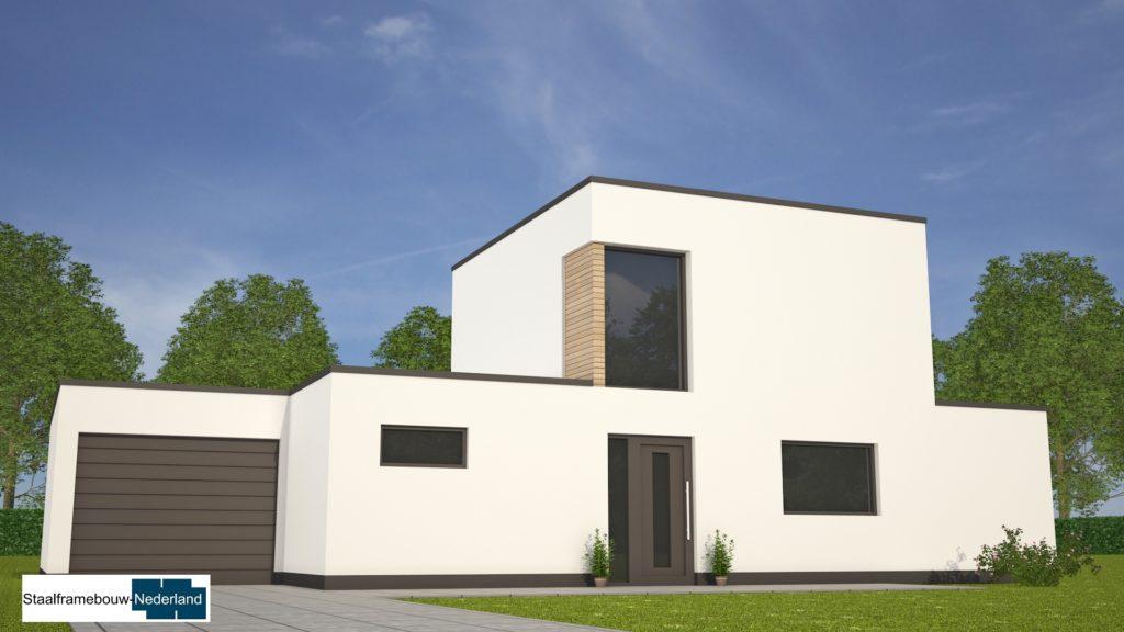 moderne-kubistische-bungalow-woning-met-gastenruimte en dakterras op eerste M113 view2