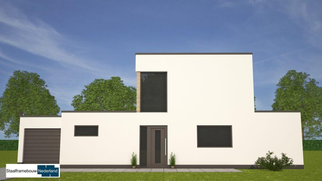 moderne-kubistische-bungalow-woning-met-gastenruimte en dakterras op eerste M113 view4
