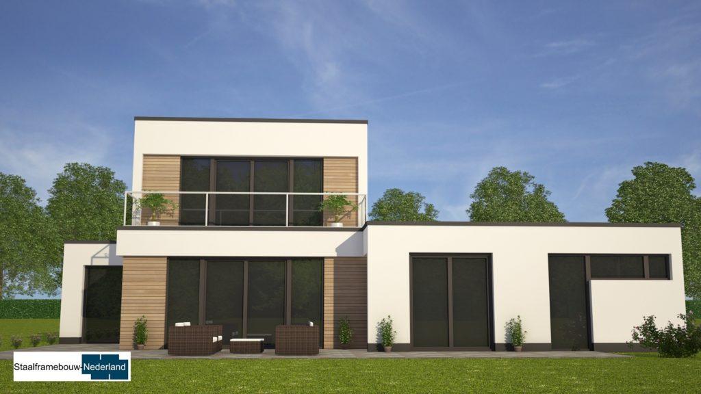moderne-kubistische-bungalow-woning-met-gastenruimte en dakterras op eerste M113 view3