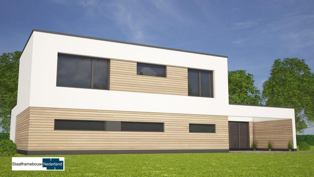 Moderne kubistische villa M122 view 1