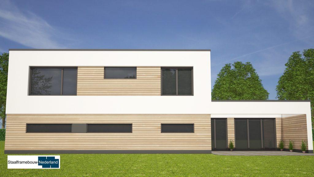Moderne kubistische villa M122 view 2