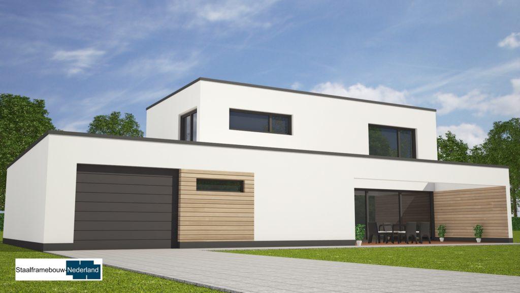 Moderne kubistische villa M122 view 3