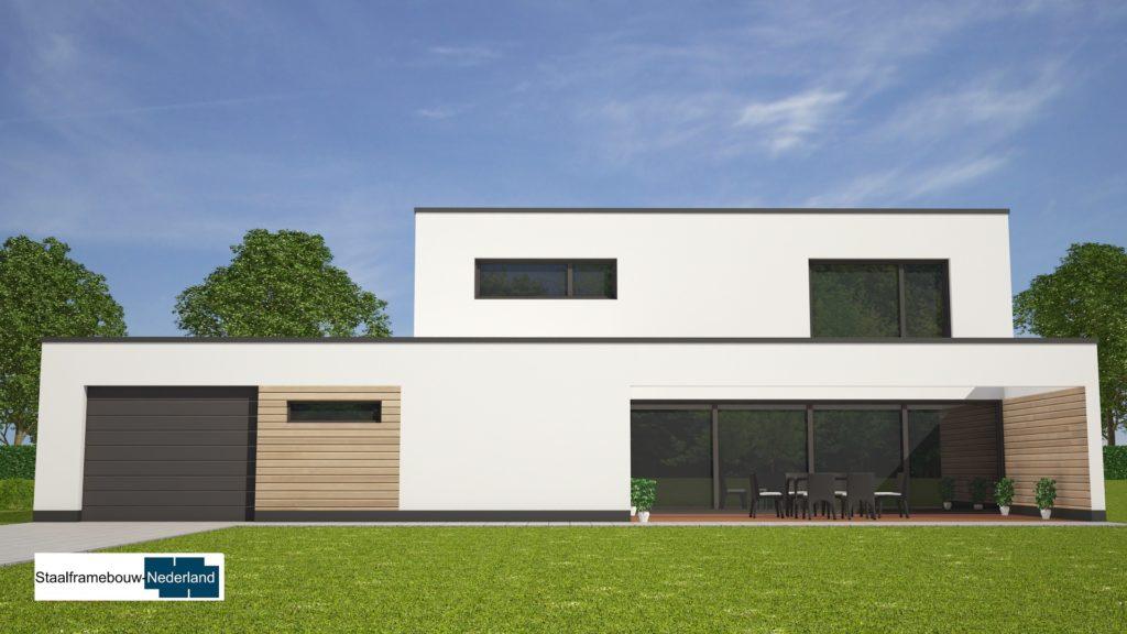 Moderne kubistische villa M122 view 4