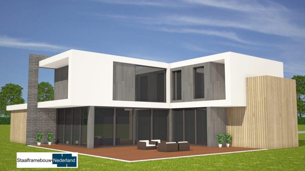 Staalframebouw nederland moderne-kubistische woningen ontwerpen en bouwen M131 2