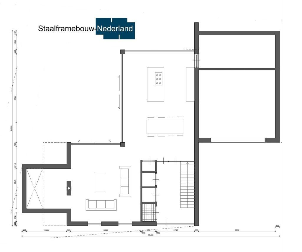 Staalframebouw nederland moderne-kubistische woningen ontwerpen en bouwen M131 4