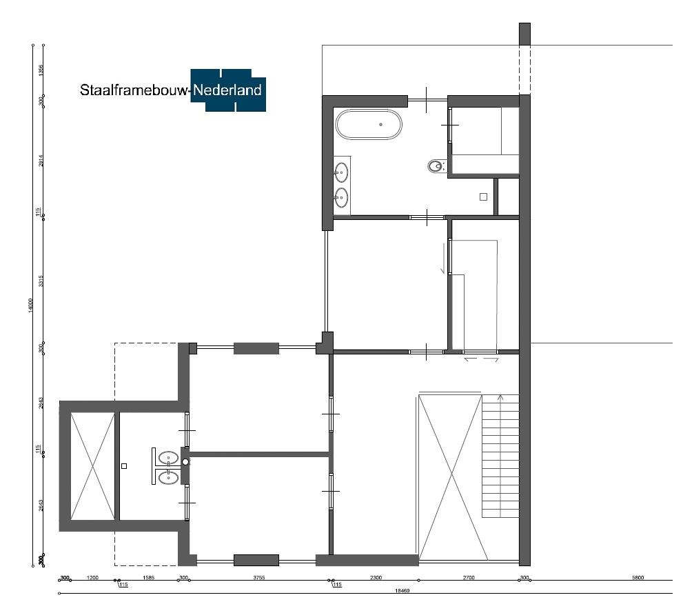 Staalframebouw nederland moderne-kubistische woningen ontwerpen en bouwen M131 5