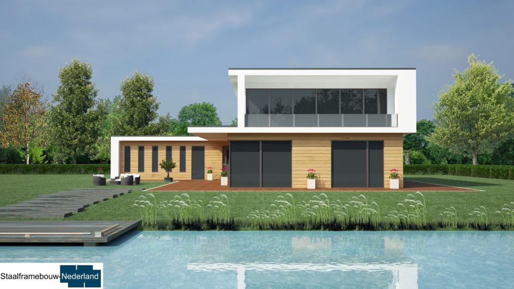 staalframebouw M21 eigentijdse moderne villa