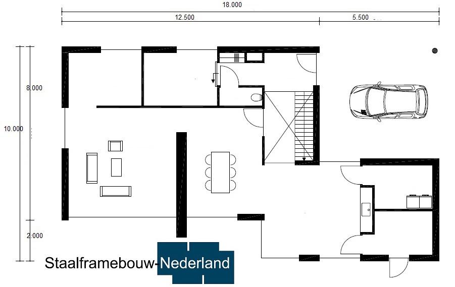 staalframebouw nederland.nl M118 Vloer 118